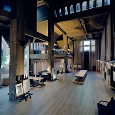 old cement factory residence or an amazing studio space
