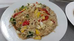 Low mein de vegetales