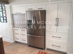 French Door Refrigerator, French Doors, Modern Furniture, Woodworking, Kitchen Appliances, Home, Design, Diy Kitchen Appliances, Home Appliances