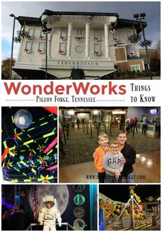 We've always been fascinated by Wonderworks in Pigeon Forge. After all, the whole idea of a house that looks like it has been dropped on it's head is just intriguing. Here's what to expect when you visit WonderWorks.
