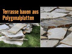 Naturstein-Terrasse aus Polygonalplatten! Bau sie dir selber mit der Anleitung der HORNBACH Meisterschmiede