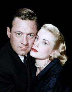"""LES COUPLES au cinéma : de haut en bas : Jane RUSSELL et George BRENT dans """"Montana Belle (1952) / Jane WYMAN et Rock HUDSON dans """"Le secret magnifique"""" (1954) / Virginia MAYO et Ronald REAGAN dans """"Vénus devant ses juges"""" (1949) / Grace KELLY et William HOLDEN dans """"Les ponts de Toko-Ri (1954) / Lana TURNER et John GAVIN dans """"Mirage de la vie"""" (1959) / Marilyn MONROE et Rory CALHOUN dans """"Rivière sans retour"""" (1954) / Jean PETERS et Robert WAGNER dans """"La lance brisée"""" (1954) / Rita…"""