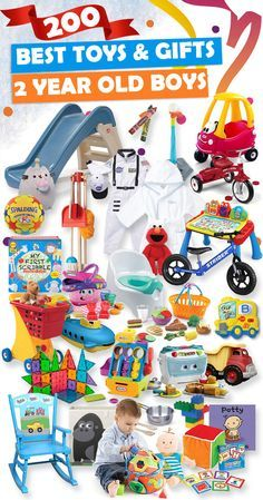Tons of great gift ideas for 2 year old boys.