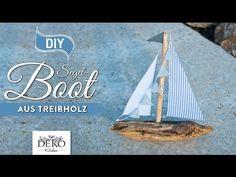 DIY: Deko-Segelboot aus Treibholz selber machen [How to] Deko Kitchen - YouTube