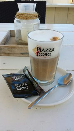 Latte Macchiatto bij Strandtent14 in Kijkduin