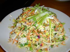 Miso salad from California Pizza Kitchen