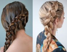 Hairstyles with braids 150 beautiful ideas and tutorials - our best style - Acconciature con trecce 150 idee bellissime e tutorial – Beautydea Braids attached to the Cape Easy Party Hairstyles, Cute Hairstyles For Teens, Teen Hairstyles, Braided Hairstyles, Cool Braids, Braids For Long Hair, Athletic Hairstyles, Top Braid, Hair Goals