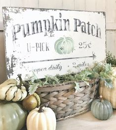 decor ideas 2019 Excited to share this item from my shop: Pumpkin Patch Vintage Sign / U-p. Excited to share this item from my shop: Pumpkin Patch Vintage Sign / U-pick pumpkins sign / old chippy pumpkin sign/ fall decor sign Fall Decor Signs, Fall Wood Signs, Fall Signs, Fall Home Decor, Autumn Home, Holiday Signs, Home Decoration, Autumn Fall, Metal Signs