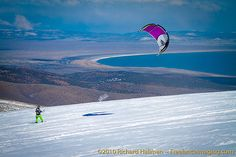Snowboarding or wakeboarding...this kite can be used year-round!