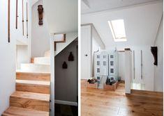 Gorgeous stairs.  Lucy Dunce, British Isle Ceramicist, Edinburgh home | Remodelista