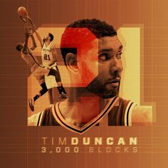 "San Antonio Spurs on Twitter: ""Tim Duncan now has 3,000 blocks in his @NBA career!   #GoTimmyGo"""