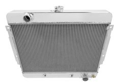 Champion 3 Row Aluminum Radiator Combo for 1969 -1970 Chevy Impala, Bel Air CC345FANRLY