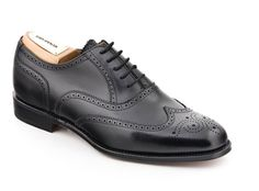 John Spencer Black Shoe