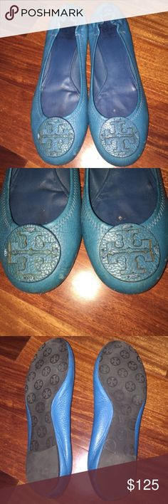 Authentic Tory Burch flats Authentic Tory Burch flats Tory Burch Shoes Flats & Loafers