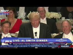 Donald Trump, Son of a Catholic Hater, Disgraces Al Smith Dinner - The Daily Beast