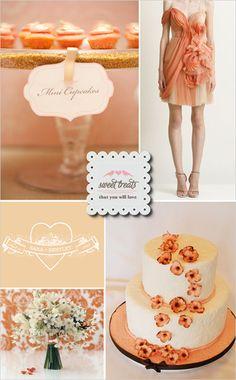 Peach Wedding Inspiration By WedLoft