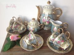 Antique Tea Set French Versailles  'French by SwaentsjeTeaParty