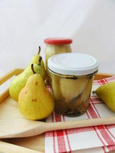 Gruszki w occie Preserves, Fruit, Pears, Pantry, Polish, Food, Winter, Pantry Room, Winter Time