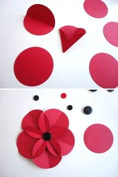 DIY tutorial scrapbook para tarjetas invitaciones o envoltorio de regalo con forma de flor
