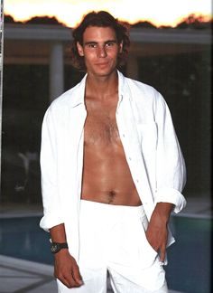 Almost shirtless Rafa Nadal for Armani | Rafael Nadal Rafa Nadal sexy article
