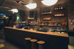 Stories. Cocktails are thirst-quenchers for sunny days, with a lengthy and original list of spiked juices, smoothies and milkshakes. More on http://bestbars.com/2014/05/26/stories-hackney/