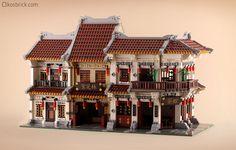 ~ Lego MOCs City ~ Modular Building | by kosbrick