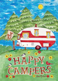 """Happy Campers"" by Sara Mullen"