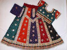 Navratri chaniya choli Designer Indian Multi color by mfussion
