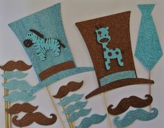 Baby Shower Its a Boy Photo Booth Party Props Mustache on a Stick Blue and Brown Baby Shower Blue Mustaches Photo Booth Party Props, Baby Shower Photo Props, Diy Photo Booth, Baby Shower Photos, Baby Boy Shower, Brown Babies, Boy Photos, Christmas Stockings, Baby Theme