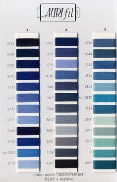 aurifil color chart - Aurifil Thread Color Chart