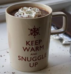 Keep warm and snuggle up!
