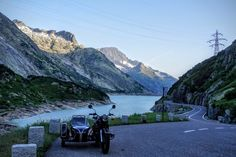 A Redleg's Rides: The European Trip, Day 27 - Fourth of July Riding on Four Passes