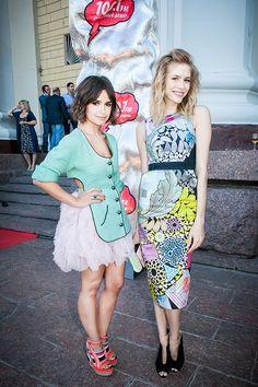 Miroslava Duma y Elena Perminova