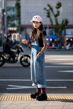 On the street… An Rina Seoul fashion week 2016 S/S
