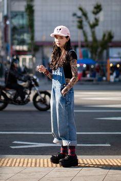 On the street… An Rina Seoul fashion week 2016 S/S