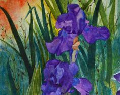 A great gift of a collectable watercolor. by TerriRobertsonArt