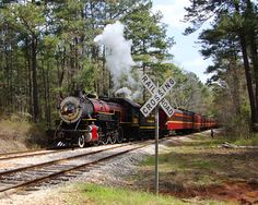 The Texas State Railroad was established in 1881, built by Texas prison inmates to transport harvested hardwood. Since 2007, the American Heritage Railways has owned and operated Texas state railroad trains.