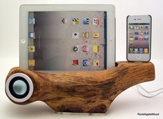 iPhone Speaker Docking Station with iPad Stand #iPhone