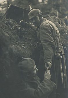 WWI, German soldiers, Vosges
