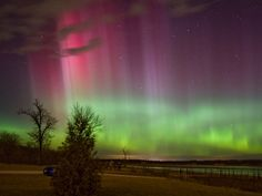 Have you ever spotted the northern lights over Iowa? This unique shot was taken overlooking Saylorville Lake