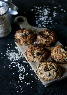 Cookie flocon d'avoine-banane-chocolat @allaboutmykitchen