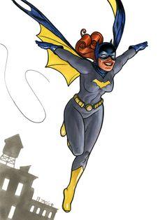 Batgirl   Batgirl by Joe Quinones. Source .