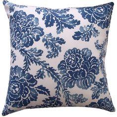 Fern Pillow in Blue
