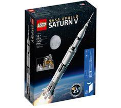Lego Ideas NASA Apollo Saturn V Set (21309) Lego Technic, Lego Duplo, Lego Ninjago, Lego City, Apollo Moon Missions, Apollo 11 Mission, Aston Martin Db5, Lego Creator, Lego Disney