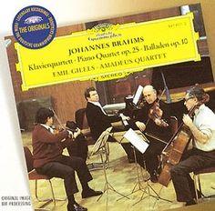 BRAHMS Klav.-quartett op. 25 - Gilels - Deutsche Grammophon