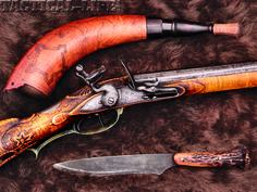 *SNEAK PEEK* at what's inside the RIFLE FIREPOWER November issue: Frontier Flintlocks: A look back at rifles that went to war, and a look forward at contemporary artisans recreating America's legacy. Black Powder Guns, Flintlock Pistol, Tactical Life, Longhunter, Long Rifle, Primitive Survival, Weapons Guns, Mountain Man, Survival Skills