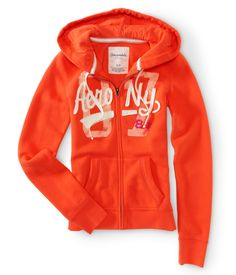 Aero NY Full-Zip Hoodie - Aeropostale
