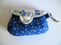 Anniversary gift for her, gift ideas, Buttons and small purse coins by homeworkart on Etsy