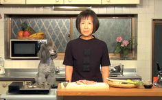 """Francis aka """"Cooking With Dog"""" Dog and Chef San.  Always inspiring me to combining two of the things I love, food and japan.  Good to see you back Chef San!"""