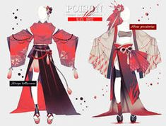 Explore the Outfit collection - the favourite images chosen by DeadwalkerWing on DeviantArt. Anime Kimono, Anime Dress, Manga Anime, Cosplay Outfits, Anime Outfits, Drawing Anime Clothes, Manga Clothes, Clothing Sketches, Fashion Design Drawings